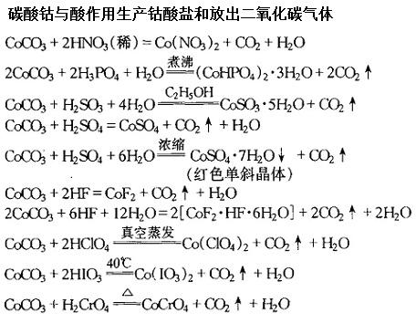 硝酸钴分解反应_碳酸钴 CAS#: 513-79-1