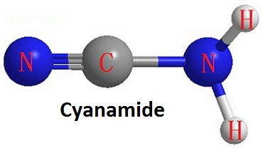Three-dimensional structure of cyanamide