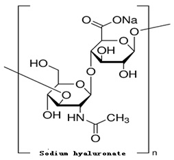 The structure of Sodium hyaluronate