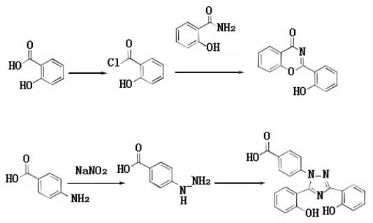 synthetic route of Deferasirox