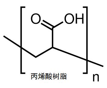 丙烯酸树脂 分子式