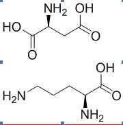 门冬氨酸和L-鸟氨酸化学式
