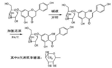 柚皮苷二氢查尔酮的合成路线