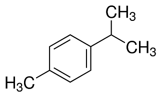 chemical structure of p-cymene