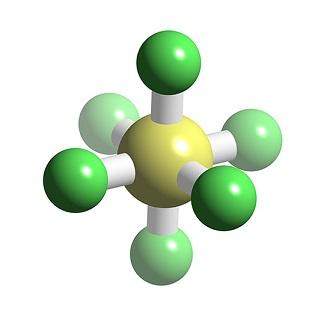 sulfur hexafluoride structure