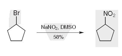 Synthesis of Nitrocyclopentane