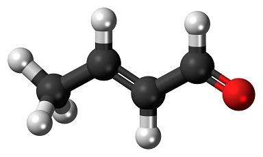 Crotonaldehyde structure