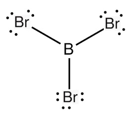 boron tribromide lewis structure