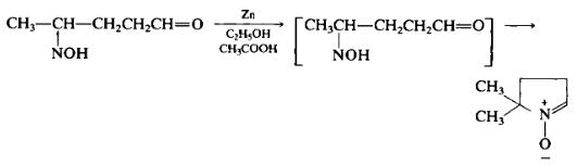 Preparation of 5,5-dimethyl-l-pyrroline-N-oxide