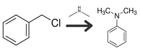 Preparation of N,N-dimethylbenzylamine