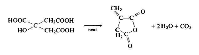 Preparation of Itaconic Anhydride