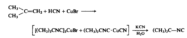 Preparation of t-Butyl Isonitrile