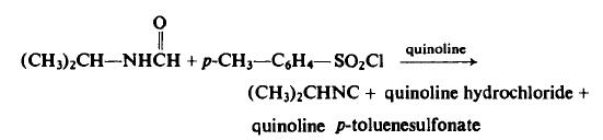 Preparation of Isopropyl Isonitrile