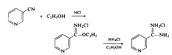 Preparation of 3-Amidinopyridine
