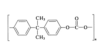 Polycarbonate structure