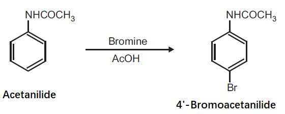 Preparation of 4'-Bromoacetanilide from Acetanilide