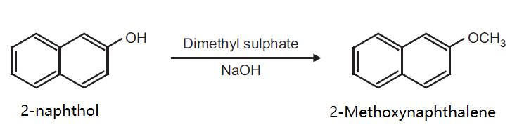 Preparation of 2-Methoxynaphthalene from 2-naphthol
