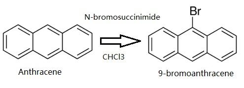 preparation of 9-bromoanthracene