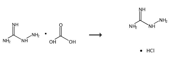 氨基胍盐酸盐的合成路线