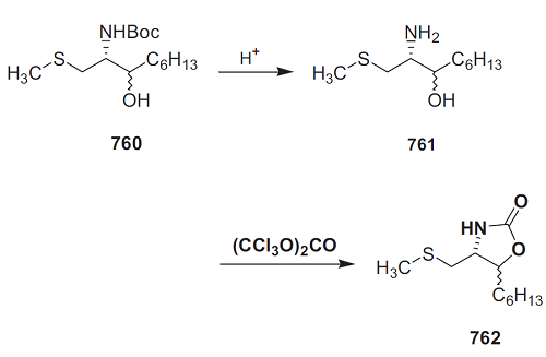 The preparation of Oxazolidinone