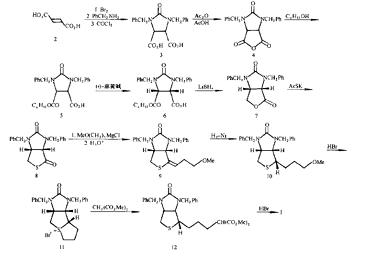 D-生物素的合成路线