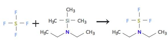 preparation of diethylaminosulfur trifluoride