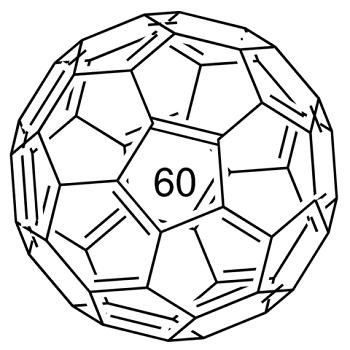 Fullerene C60 structure