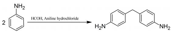 Preparation of 4,4′-methylenedianiline