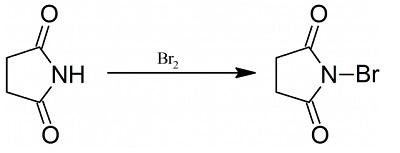Preparation of N-bromosuccinimide