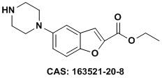 5-(哌嗪-1-基)苯并呋喃-2-羧酸乙酯