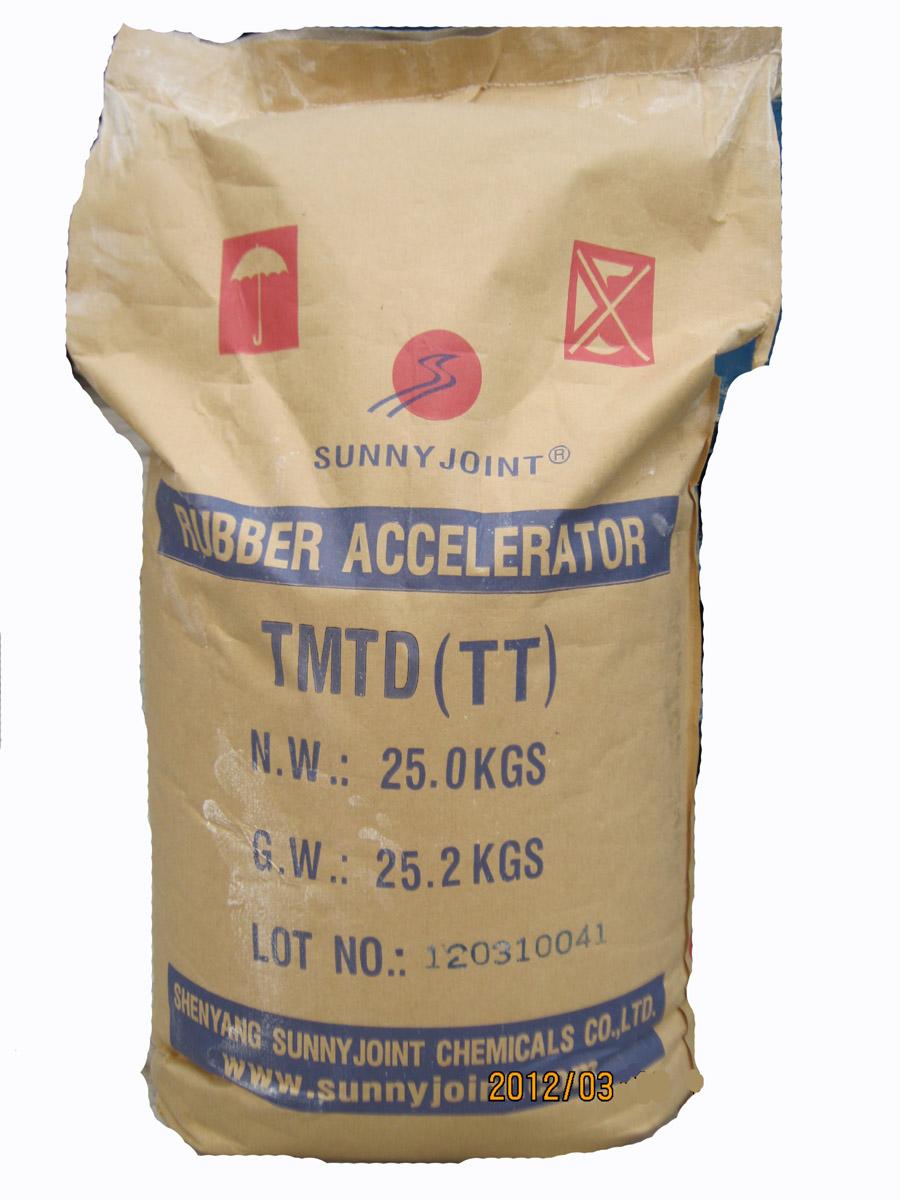 橡胶促进剂TT(TMTD),橡胶促进剂TMTM