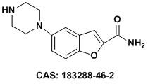 5-(哌嗪-1-基)苯并呋喃-2-甲酰胺