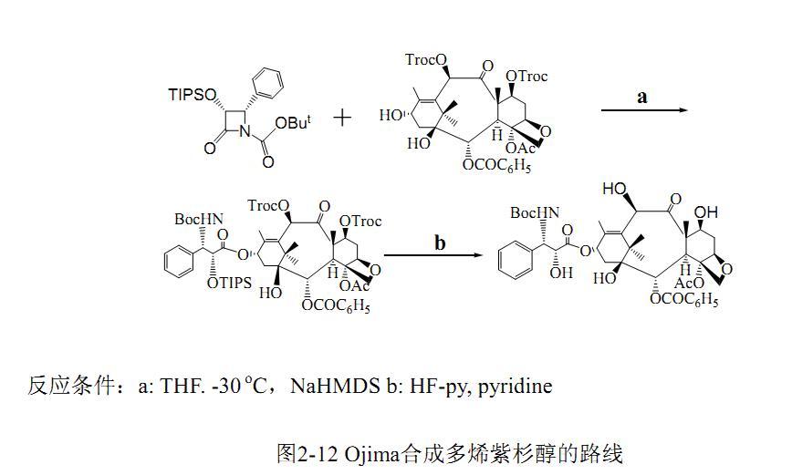 多烯紫杉醇 合成路线二