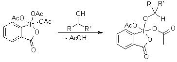 戴斯-马丁氧化反应 图一
