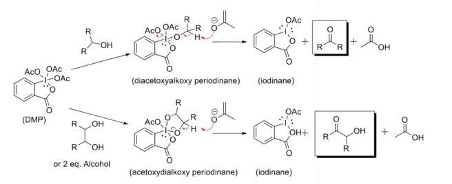戴斯马丁氧化剂 相关反应图一