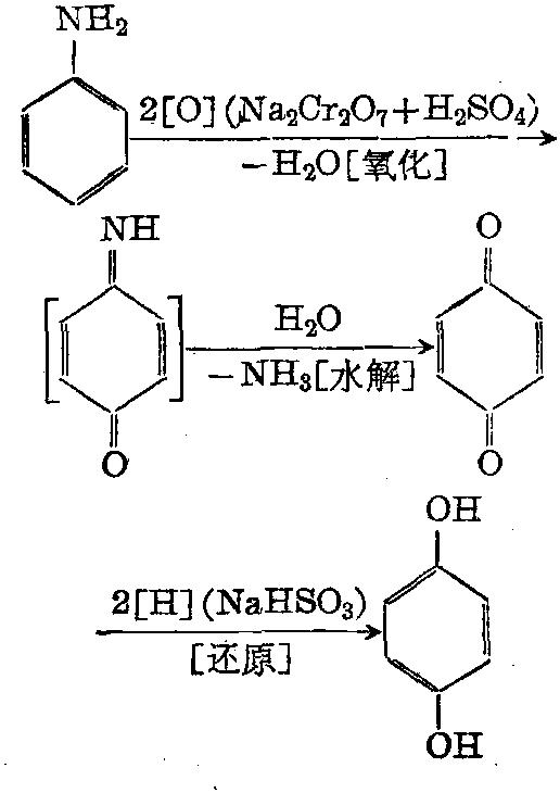 对苯二酚 制备方法