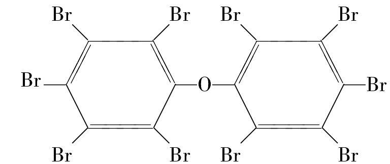 十溴联苯醚 化学结构式