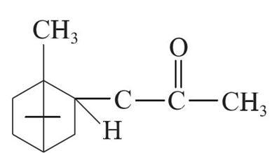乙酸龙脑酯化学结构式