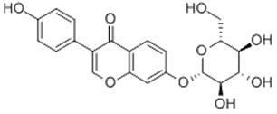 大豆苷化学结构图