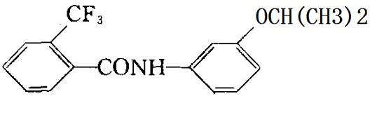 氟酰胺化学结构式