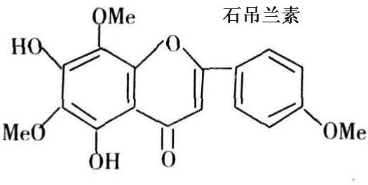 石吊兰素化学结构式