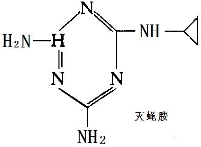 灭蝇胺化学结构式