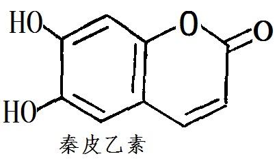 秦皮乙素化学结构式