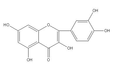 槲皮素苷结构式
