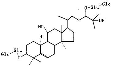 罗汉果皂苷A1结构式