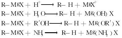 烃类的制备反应式