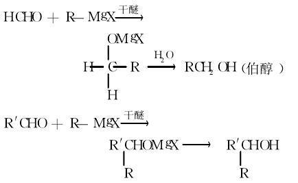 醇类的制备反应式2