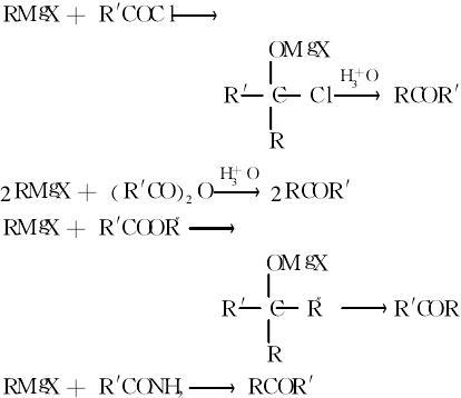 酮类的制备反应式2