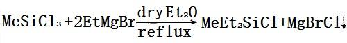 甲基二乙基氯硅烷的合成反应式