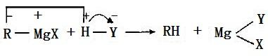 与含活泼氢的化合物反应式